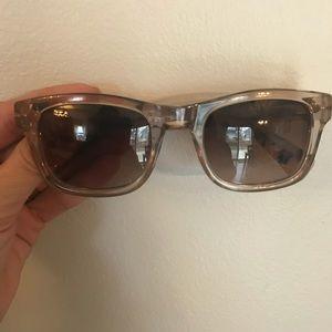 J Crew Tortoiseshell Clear Sunglasses